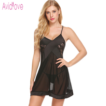 Buy Avidlove Women Underwear Lingerie Sexy Hot Erotic Sleepwear Transparent Babydoll Lace Sex Night Sleepwear Nightgown Porn Clothes