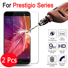 For Prestigio Grace Q5 Tempered Glass 9H Protective Film Screen Protector For Prestigio Wize N3 5506 PSP5506 3507 DUO Film Case(China)