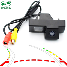 GreenYi Intelligent Dynamic Trajectory Tracks Rear View Camera For Toyota Land Cruiser 100 Prado 120 Reversing Backup Camera(China)