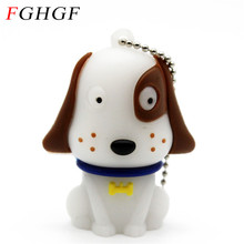 FGHGF lovely dog usb flash drive pendrive 4gb 8gb 16gb 32gb animal pen drive 16gb memory stick cartoon animal U disk USB 2.0