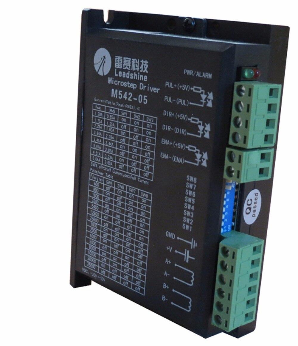 M542-05  nuovo leadshine  2-phase stepper drive con-50vdc tensione e 1.20-5.04a corrente<br><br>Aliexpress