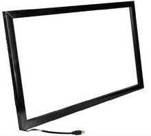 fast shipping!!49 inch 10 points IR multi touch screen overlay kit with USB power for LCD& Monitor, touch table, kiosk etc
