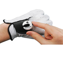 EZ Count Golf Glove Stroke Counter Scorekeeper Small Simple Clip On Light White(China)