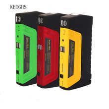 KEOGHS 68800mah multifunctional strong engine starter 2 USB chargers starting 4.0L diesel/6.0L gasoline engine