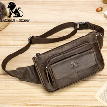 Buy Fanny Waist Packs Cow Leather Fashion 2018 Waist Bag Small Mobile Phone Bag Casual Multifunction Men Purse BELT WAIST Bag Retro for $20.53 in AliExpress store