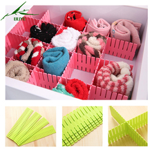 Multi Function 4 PCS/set Plastic Desktop Drawer Storage Box Clothing Organizer Boxes Drawers Divider Creative Storage Boxes Bins