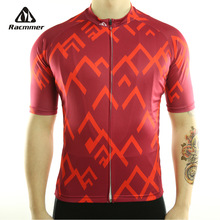 Racmmer 2017 Quick Dry Cycling Jersey Summer Men Mtb Bicycle Short Clothing Ropa Bicicleta Maillot Ciclismo Bike Clothes #DX-12