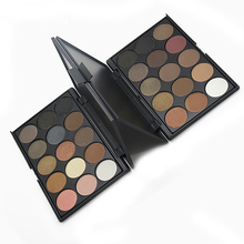 Ange Aile 15 Colors 3 Different New fashion Matte Pigment Eyeshadow Palette Cosmetic Makeup Eye Shadow For Women free shipping