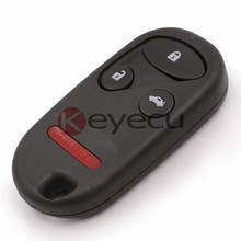 New Smart Remote Car Key Fob for 2000-2002 Honda Accord and for 2000-2001 Acura TL FCC: KOBUTAH2T(China)