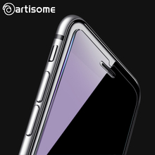 ARTISOME Tempered Glass For iPhone 6 6S Plus Screen Protector Anti Blue Light Clear HD 9H For iPhone 6 6S Protective Film Glass