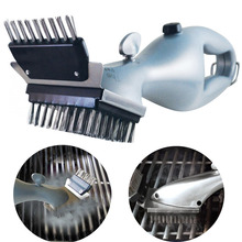 Grill Cleaning Brush Heavy Duty Steel Barbecue Bristles Cleaner for Easier and Effective Cleaning(China)