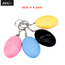 Buy 4pcs pack 4 color Emergency self defense Personal Key chain alarm Self Defense personal Alarm Elderly Kids women for $10.89 in AliExpress store