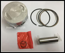 Motorcycle Piston Ring Zongshen ATV250 ZS250 CB250 moto Piston Ring Bore 69mm Piston pin 17mm