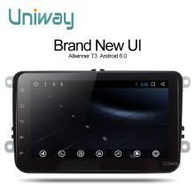 Uniway 2G+16G 2 din android car dvd  for vw polo passat b5 b6 golf 4 5 mk4 tiguan octavia rapid fabia Superb car radio gps