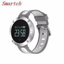 Smartch 2017New DM58 Smart Bracelet IP68 Waterproof band Blood Pressure Heart Rate Monitor Call Reminder Sports Track Smart Wear