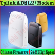 EU/AU/UK/US plug TP-Link ADSL ADSL2 Modem 24M High Speed DSL Internet RJ11 RJ45 Modem ADSL 2+ with LAN Port, No Retail Box Prom-(China)