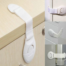 Toddler Baby Safety Lock Kids Drawer Cupboard Fridge Cabinet Door Lock Plastic Cabinet Locks 1 Pcs