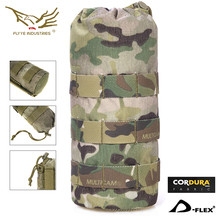 Flyye Water Bottle Pouch Hydration Carrier Molle Pouch Military Gear PH-C001 Black Khaki AOR Coyote Genuine Multicam
