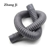 Zhang Ji Kitchen sink drain hose Simple design Universal Bathroom basin flexible hose 80cm Kitchen outlet water pipe ZJ037