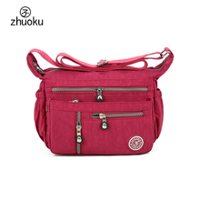 2017 New shoulder bags women messenger bags ZHUOKU Original design Pouch crossbody bags for women good quality Female bag ZK737(China)
