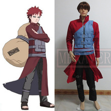 Anime Naruto Cosplay costume Sabaku no Gaara 6th generation clothes