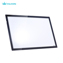 "HUION A2 24.5"" Portable LED Light Drawing Pad 8mm Drawing Tablets Box Panel Table Copyboard Adjustable Brightness US Plug"