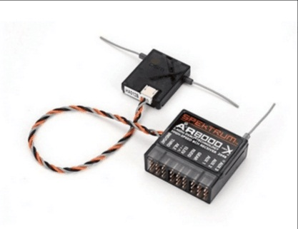 AR8000 8CH Receiver W/ Remote Extension SPMAR8000 DX9 DX8 For Quadcopters Helicopters<br>