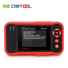 New Arrival Launch CReader CRP123 Code Scanner Update Online Same As Creader VII+ Support for Multi Brand Diagnostic Tool