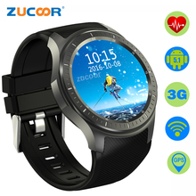 Smart Watch ZW65 Heart Rate Monitor Pedometer GPS/WiFi/WCDMA Bluetooth Speaker Sport Clock Fitness Tracker Android Smartwatch