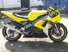 Hot Sales,For Yamaha YZF 1000 R1 2000 2001 Parts YZF R1 00 01 YZF-R1 Yellow Black White Motorcycle Fairing (Injection molding)(China)