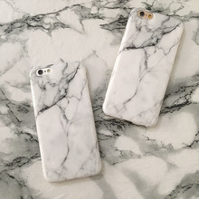 Marble Copy Hot Selling Fashion Phone Cases Soft TPU Case For iPhone 5 5s 5Se 6 6s 6Plus 7 7Plus  Stone Texture Back Cove