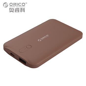 Orico 2500 mah solo puerto banco de la energía de batería externa powerbank portátil cargador de teléfono móvil para teléfonos inteligentes