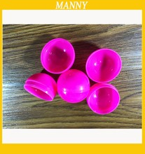 38MM Solid Pink Capsule For Toys Candy Plastic Toy Capsules For Vending Machine 1000pcs/lot(China)