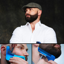 Beard Bro Beard Shaping Tool Sex Man Gentleman Beard Trim Template hair cut hair molding trim template beard modelling tools GYH