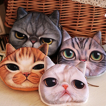 Coin Purses Women Purse for Coins Children's Wallet Kids Wallets Cats Fashion Small Bag gato Monederos Mujer Monedas Carteira