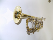 Bb Rotary Trumpet with Extra leadpipe included Foambody case and mouthpiece musical instruments professional