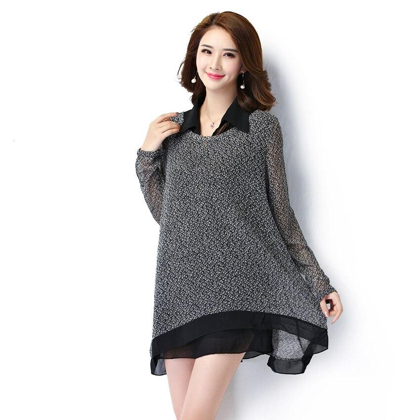 Autumn Mini Dress for Lady Fashion 2 Pieces Sets Women Vestido Gray Knitted Long Sleeves Robe Plus Size Chiffon Dress FF1A001BÎäåæäà è àêñåññóàðû<br><br>