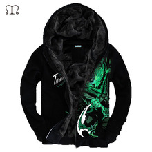 Hoodies Men LOL 3D Brand-Clothing Men's Casual Sportswear Winter jacket Man Hoody Zipper Sweatshirt Men Slim Fit Mens Hoodie