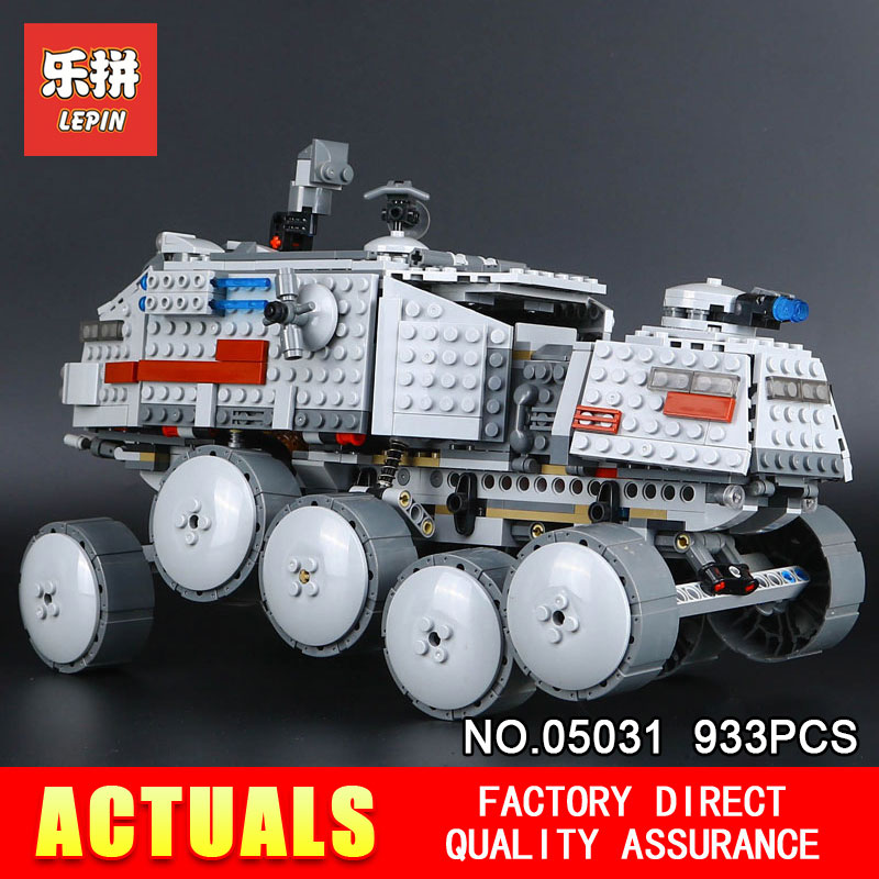 LEPIN 05031 Star Classic 933Pcs Wars Clone Turbo Tank 75151 Building Blocks Bricks Compatible with 75151 Children Toys Gifts<br>