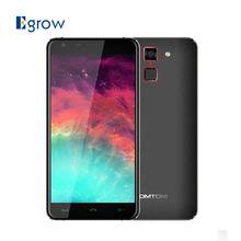 Original Homtom HT30 MTK6580 Quad Core Android 6.0 Fingerprint Mobile Phone 5.5 Inch Cell Phone 1G RAM 8G ROM Unlock Smartphone(China)