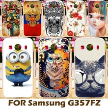 Phone Case For Samsung Galaxy Ace 4 LTE G357FZ 4.3 inch Ace Style LTE G357 SM-G357FZ Cellphone Covers Shell Skin Coque