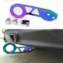 Neo Chrome Rear Tow Hook Fit For Honda Civic Integra RSX fit With Logo