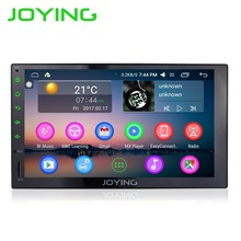 "7""Joying 2 Din Multimedia Player Universal Car Radio Stereo Android 6.0.1 1024*600 HD Full Touch Screen GPS Navigation Head Unit"