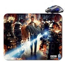 Doctor Who David Tennant And Matt Smith  Support Optical Mouse Durable Office Accessory 90*250*2/220*180*2MM  Free Shipping