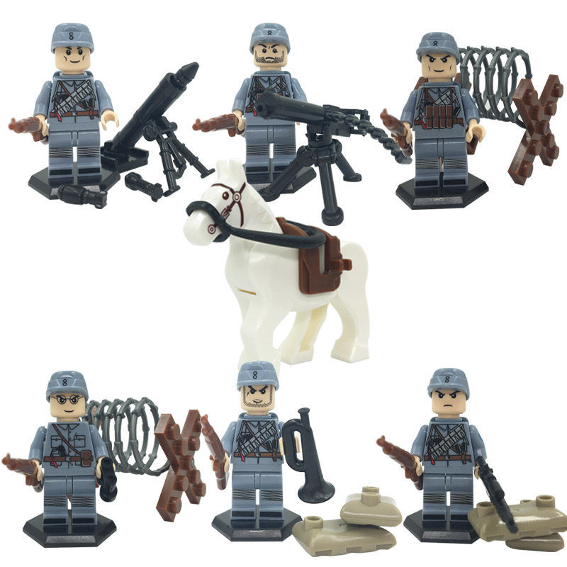 Doll Military D165 Minifigures The Anti World WarII police army weapons toys for children gift China Elite 115 Division<br><br>Aliexpress