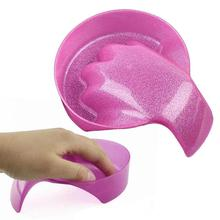 Flash powder foam hand bowl resurrection hand care activities nail polish global water container Manicure nail bowl A2(China)