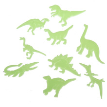Best Price 9pcs/pack Glow in the Dark Fluorescent Decal Baby Kids Children Room Home Wall Luminous Decoration Dinosaur Stickers