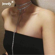European and American trade jewelry new nightclub personality exaggerated necklace long tassel necklace