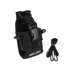 XQF MSC-20A Walkie Talkie Case Holster for Yaesu Icom Motorola GP328+ CB Radio BAOFENG UV-5R UV-5RE Plus UV-B5 UV-82 UV-B5(China)