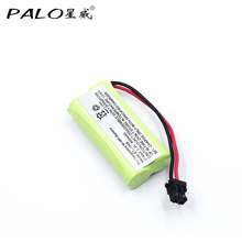 Cordless Phone Battery 2.4v 800mAH Ni-MH Rechargeable Battery For Uniden BT-1008 BT-1016 BT-1021 BT-1025 BT1021 BT1025 CPH-515B(China)